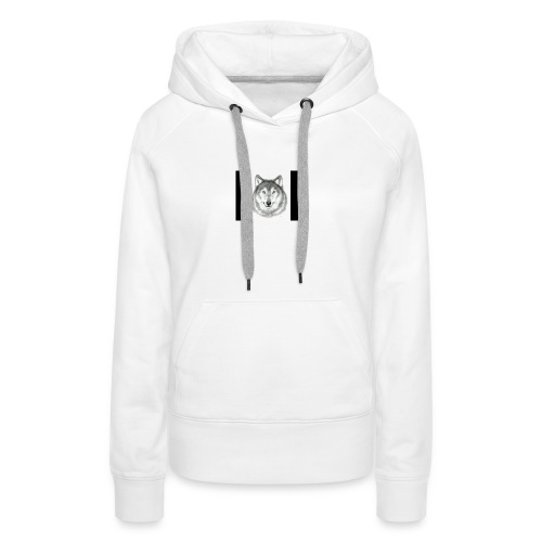 Wolf Gaming Live Stream Shirt - Women's Premium Hoodie