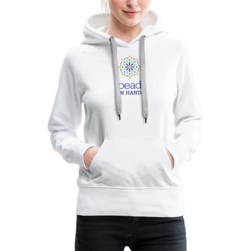 Bead In Hand Logo with tag line - Women's Premium Hoodie