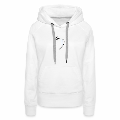 Womens Detour Logo T-Shirt (Front and Back) - Women's Premium Hoodie