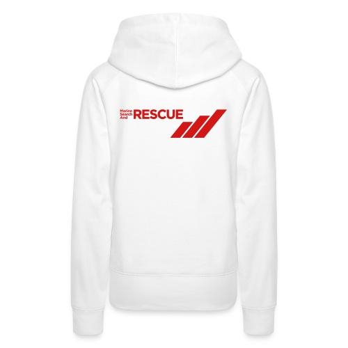 MSAR Red Logo with Stripes - Women's Premium Hoodie