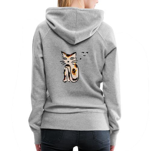 Sneaky Cat - Women's Premium Hoodie