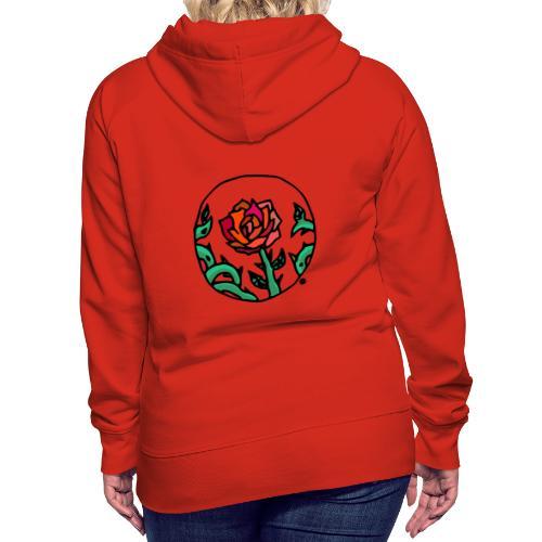 Rose Cameo - Women's Premium Hoodie