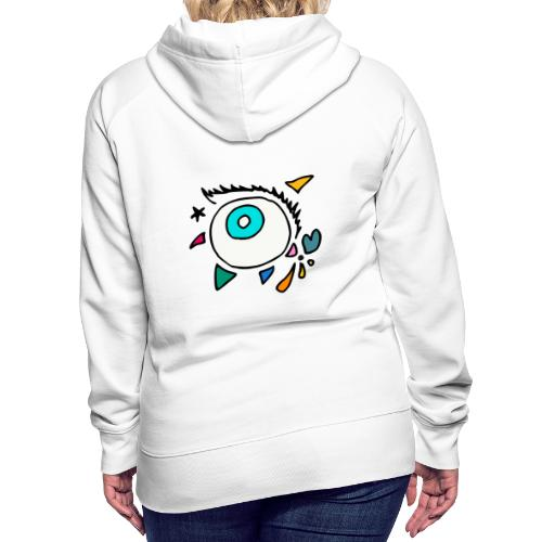Punkodylate Eye - Women's Premium Hoodie