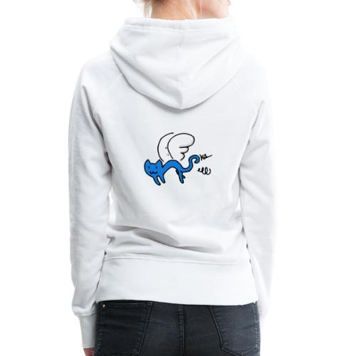 Flying Kitty - Women's Premium Hoodie