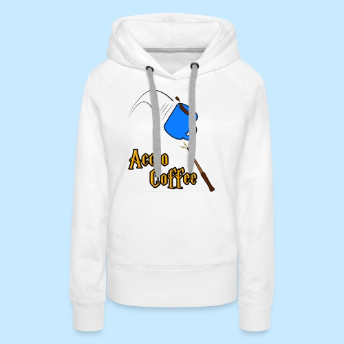 Accio Coffee! (Double Sided) - Women's Premium Hoodie