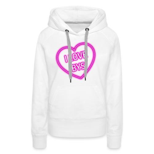 BYS Heart - Women's Premium Hoodie