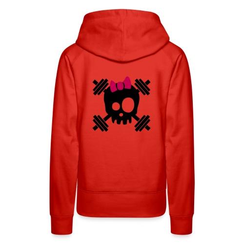 girl logo good - Women's Premium Hoodie