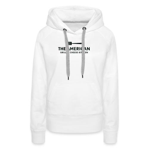TAGCK Ringer Shirt-White/Black - Women's Premium Hoodie