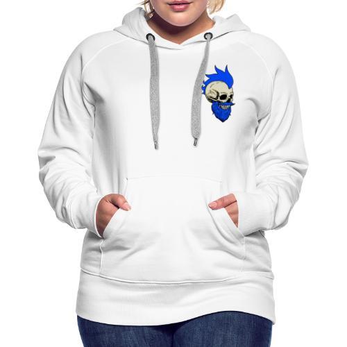 Matty Mohawk Skull & Logo - Women's Premium Hoodie