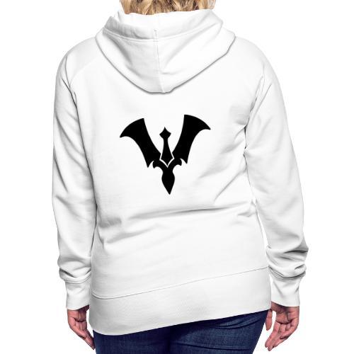 Suit New Logo White - Women's Premium Hoodie