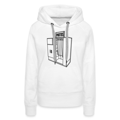 Photobooth.net T-Shirt with Logo and Name - Women's Premium Hoodie
