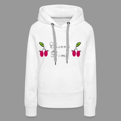 Cherry Bomb - Women's Premium Hoodie