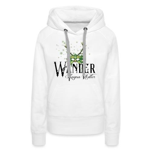 Wander in Green - Women's Premium Hoodie