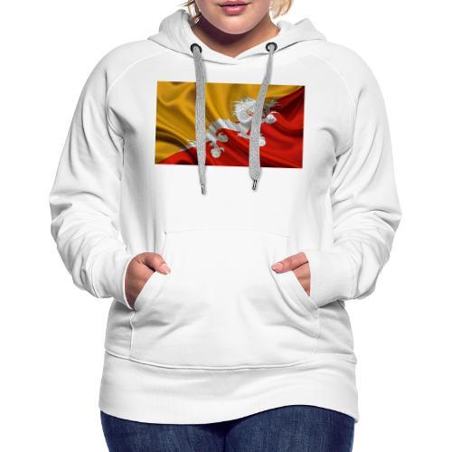 Bhutan Flag - Women's Premium Hoodie