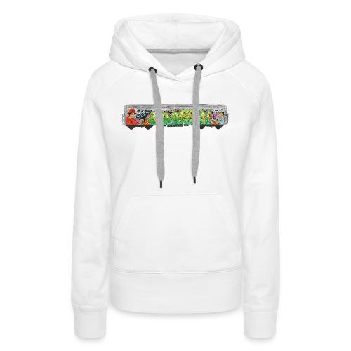 NicOne - NY Graff Design - Women's Premium Hoodie