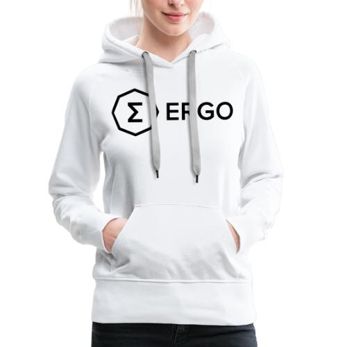Ergo Symbol with Name - Women's Premium Hoodie