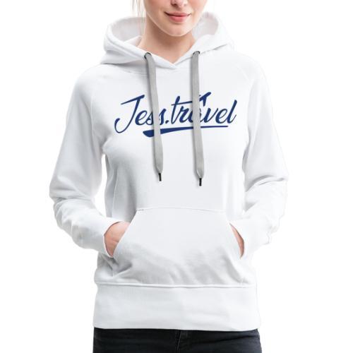 Jess Travel Logo LARGE Reverse - Women's Premium Hoodie