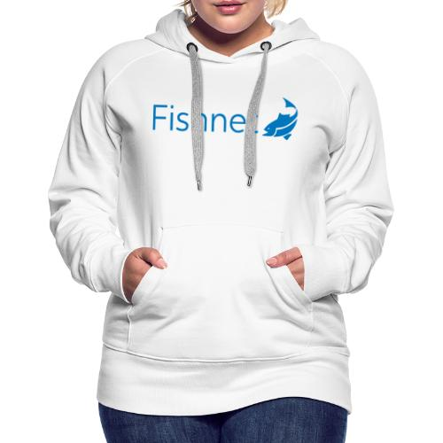 Fishnet (Blue) - Women's Premium Hoodie