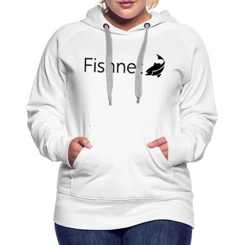 Fishnet (Black) - Women's Premium Hoodie