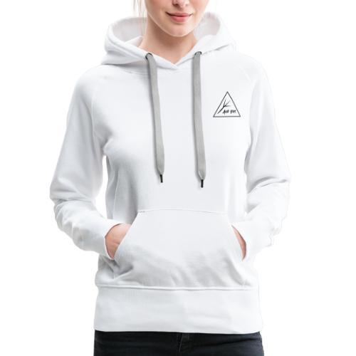 Black Triangle - Women's Premium Hoodie