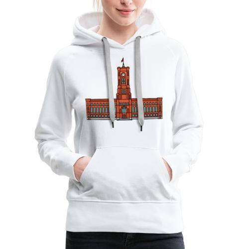 Red City Hall Berlin - Women's Premium Hoodie