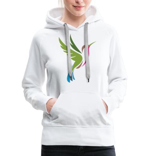 Hummingbird Spot Logo Products - Women's Premium Hoodie