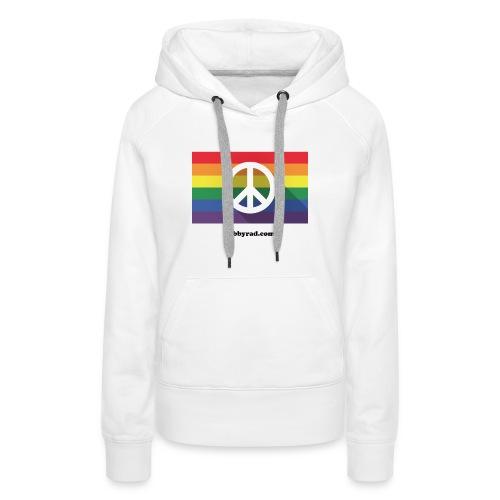 Peace pride dibbyrad - Women's Premium Hoodie