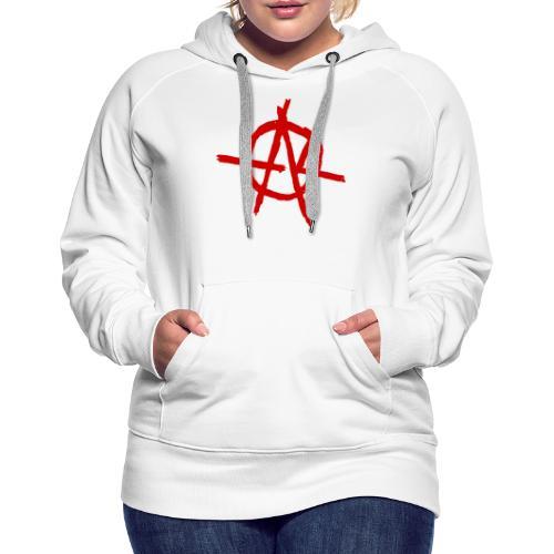 Anarchy (Red) - Women's Premium Hoodie