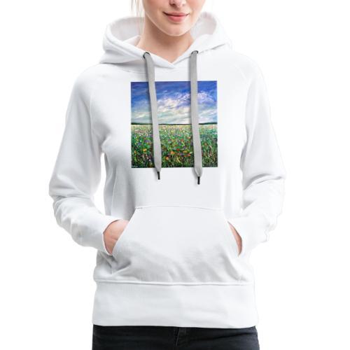 Field of Flowers - Women's Premium Hoodie
