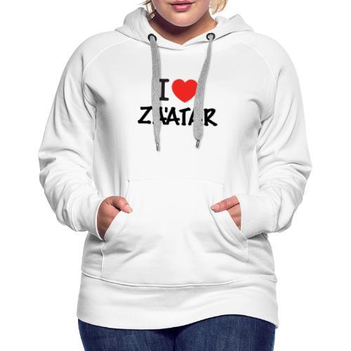 i love zaatar 1 - Women's Premium Hoodie