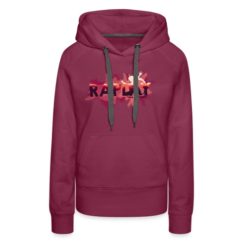 Raplay Paint #VemPraRaplay - Women's Premium Hoodie