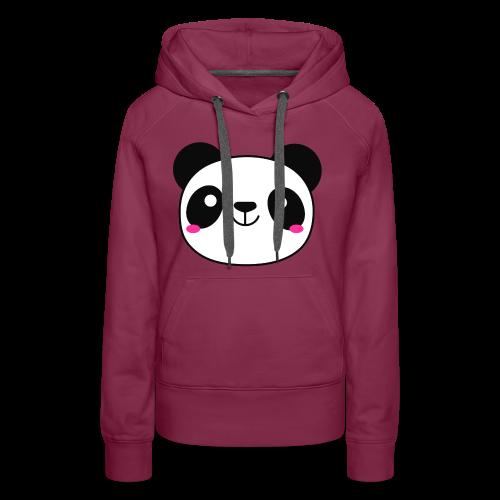 Panda Smiling Special Gift - Women's Premium Hoodie