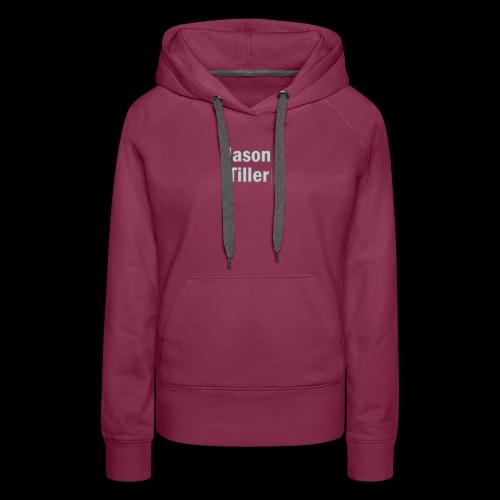 Tiller Text 3 - Women's Premium Hoodie