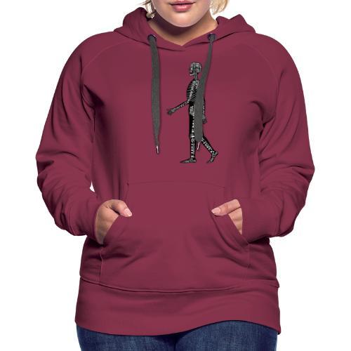 Skeleton Human - Women's Premium Hoodie