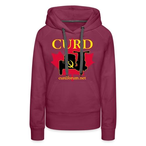 CURD curdforum - Women's Premium Hoodie