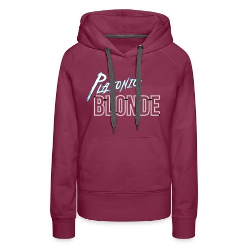 Platonic Blonde - Women's Premium Hoodie
