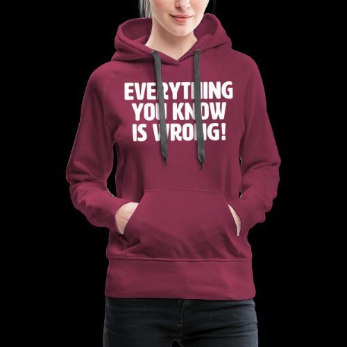 EYKIW - Women's Premium Hoodie