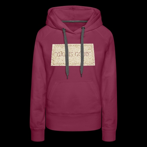 gay is good grave - Women's Premium Hoodie