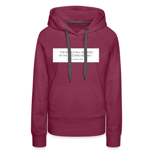dalailamaquote - Women's Premium Hoodie