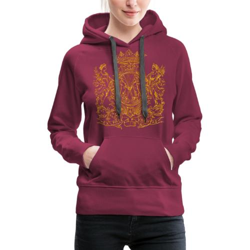 peace and prosperity coat of arms - Women's Premium Hoodie