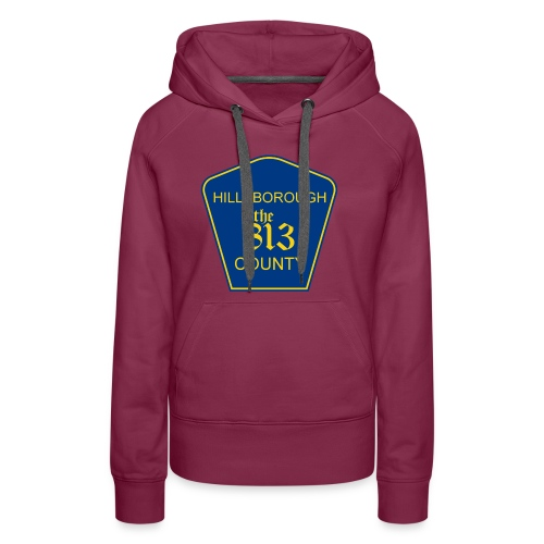 Hillsborough the813 County - Women's Premium Hoodie
