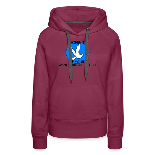 Wing it - Women's Premium Hoodie