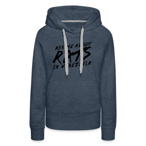 ask me about rats - Women's Premium Hoodie