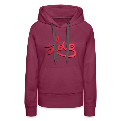 Love Transparent Background - Women's Premium Hoodie