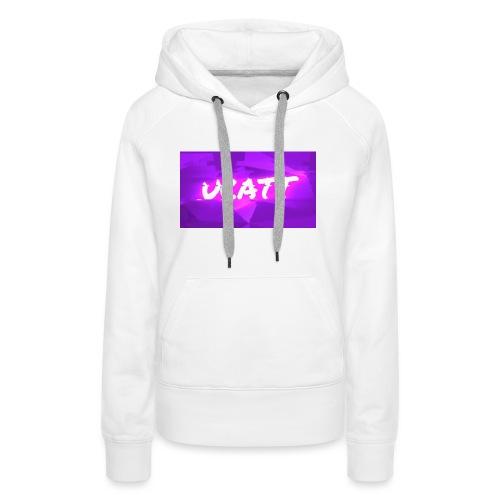 UCATT Logo - Women's Premium Hoodie