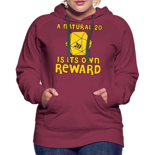 Natural Twenty - Women's Premium Hoodie