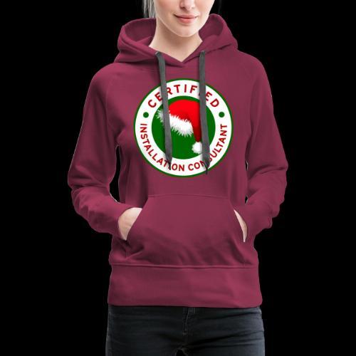 Christmas Lights R Us Emblem - Women's Premium Hoodie