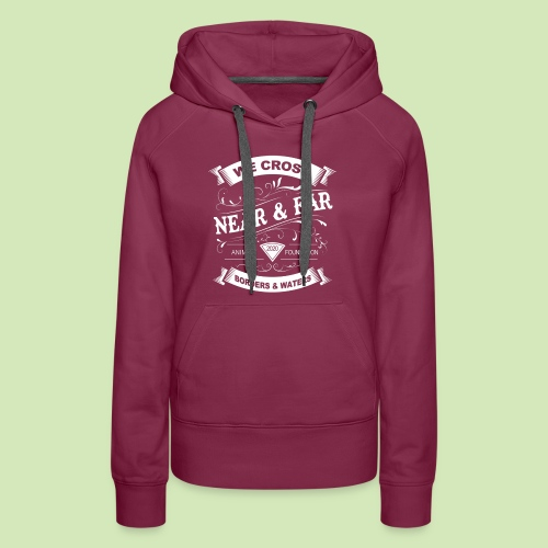 Vintage Near and Far - Women's Premium Hoodie