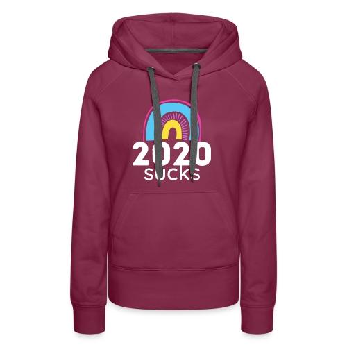 2020 sucks 3 - Women's Premium Hoodie