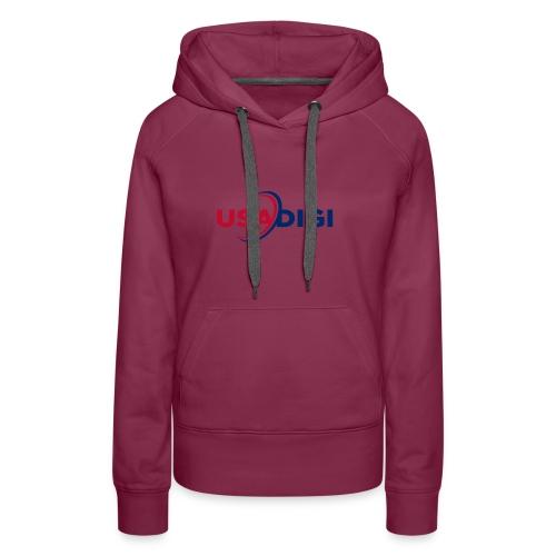 USA DIGI for light shirts - Women's Premium Hoodie